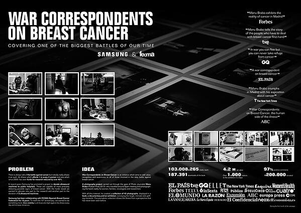 Campaña_War_correspondents_on_breast_cancer