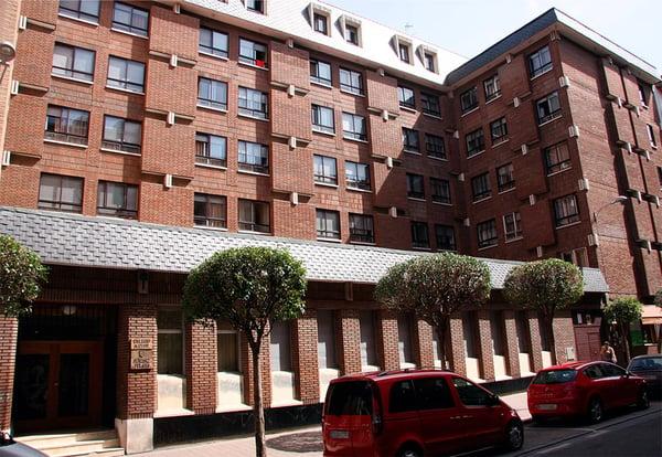 Fachada del Colegio Mayor Menéndez Pelayo de Valladolid