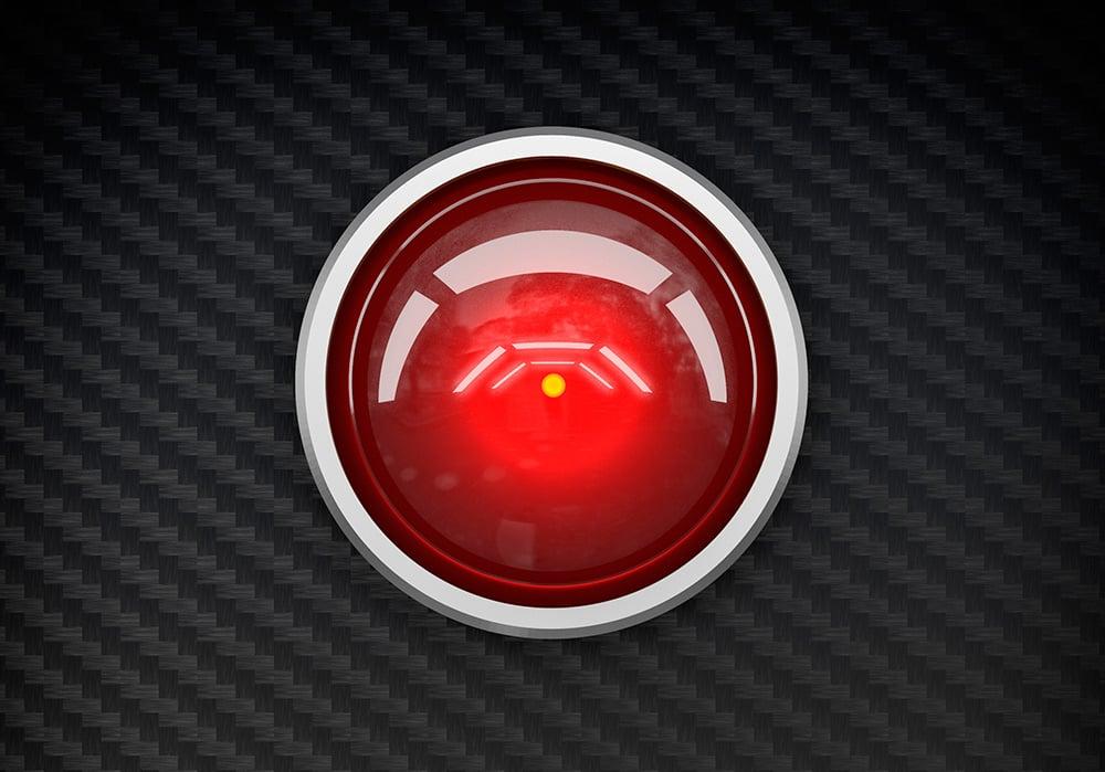 Ordenador HAL 9000 de la película 2001: Una odisea en el espacio.