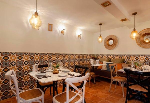 Interior de Mercè Restaurante de Valladolid