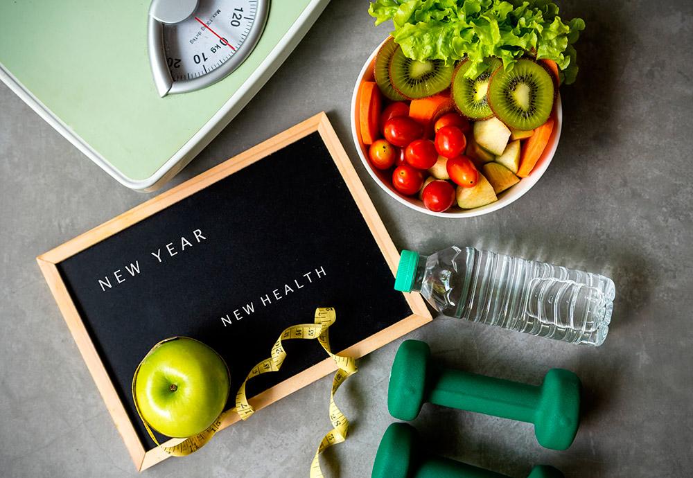Consejos y hábitos saludablespara ayudarte con la dieta post Navidad