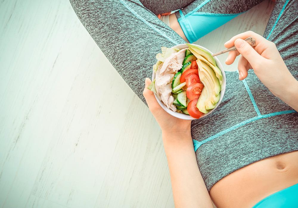 Alimentación saludable y ejercicio para afrontar la vuelta al trabajo