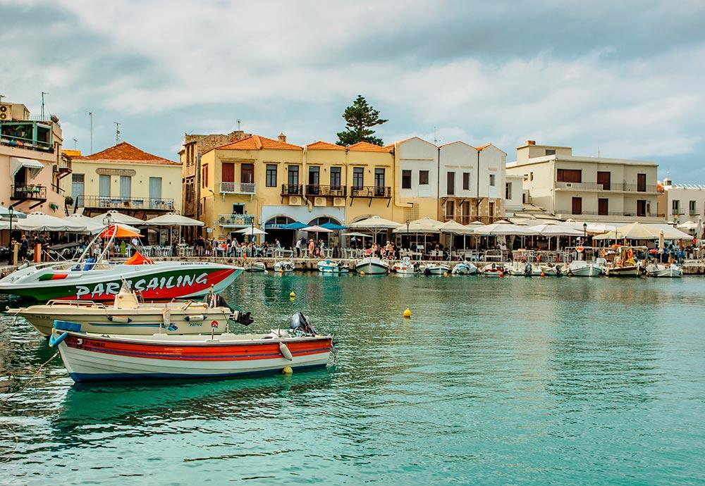 Rétino (Creta): un lugar ideal para aprender inglés