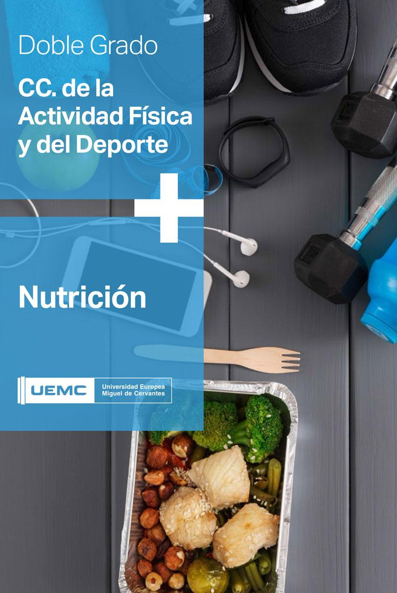 Doble grado en Ciencias de la Actividad Física y el Deporte + Nutrición Humana y Dietética